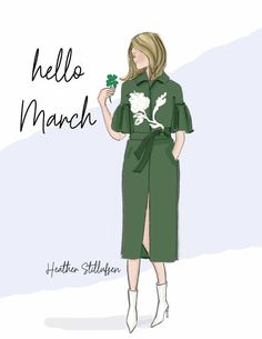 rose hill designs by heather stillufsen Neuer Monat, March Quotes, Hello March, March Month, Hello Weekend, Sassy Pants, Gift Quotes, Happy Women, Months In A Year