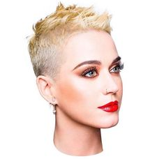 Katy Perry's new look