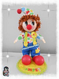 creacionesreme@gmail.com   wasap 655536710   Muñequitas fofuchas de goma eva Creacionesreme