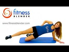 Flat Belly Workout – Abs and Obliques Workout, Fitness Blender