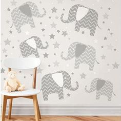 Wall Pops Elephants A Ton Of Love Wall Decals - Wall Sticker Outlet