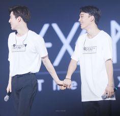 Chen e Suho EXO ✨