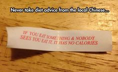 Doubtful Diet Advice