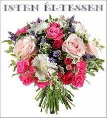 """Képtalálat a következőre: """"virágok szülinap"""" Floral Wreath, Birthdays, Happy Birthday, Wreaths, Halloween, Cards, Diy, Decor, Anniversaries"""