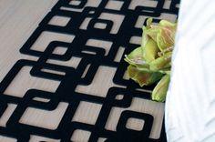 podkładki filcowe od www.filcocuda.pl filc, dekoracje stołu, felt , felt table pads