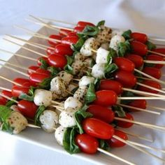 #appetizers Caprese Appetizer  http://stampingwithbibiana.blogspot.com/
