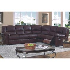 Versatile And Functional This Temper Reclining Sectional