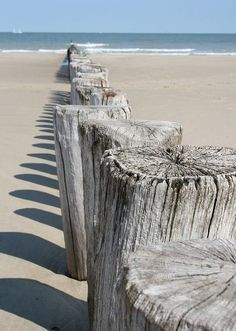 Cette photo me rappelle étrangement une photo prise il y a quelques années sur la plage deSt Malo...