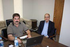 Dennis Kowalski CI President with Peter Tsolakides SSA Founder