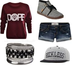 """""""Dat Swagg-Swagg Girl"""" by trudirectioner on Polyvore"""