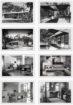 Case Study House No.9 : Entenza House, Pacific Palisades CA (1949) | Architect : Charles Eames and Eero Saarinen