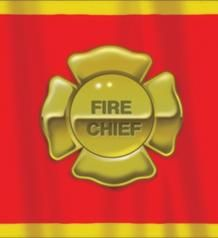 Firefighter Party Printed Plastic Tablecover. $4.99