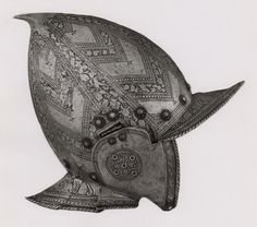 Northern Italian    Burgonet, c. 1570/80    Steel  H. 24.5 cm (10 5/8 in.)    George F. Harding Collection, 1982.2501