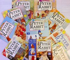TEN PETER RABBIT Comics 1996 Modern Age Issues 2,3,11,12,13,14,15,16,17,18. #peterrabbit Free Fun, Peter Rabbit, Gifts For Friends, Free Gifts, Balloons, Age, Comics, Learning, My Love