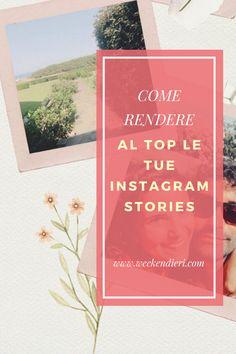 Idee per le tue Instagram Storie? Scopri le migliori app e template per fare le Instagram stories. Tante idee per migliorare il tuo profilo Instagram!