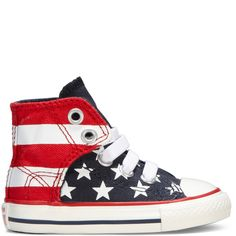 Chuck Taylor Easy Slip Toddler blue/ red