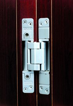 Heavy duty concealed hinges for secret doors the - Hidden hinges for exterior doors ...