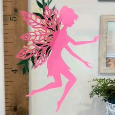 Tutorial and cut files now available Decoration Ideas Woodland Forest Fairy DIY Diy Home Crafts, Diy Arts And Crafts, Crafts For Kids, Paper Crafts Origami, Diy Paper, Forest Fairy, Woodland Forest, Fleurs Diy, Fairy Crafts