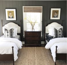 Classic bedroom escape best of 12 charming guest bedrooms you ll want to re Twin Beds Guest Room, Bedroom Decor, Small Guest Bedroom, Home, Twin Bedroom, Small Guest Rooms, Guest Bedrooms, Classic Bedroom, Room