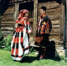 Women and men of Slavonia, Croatia