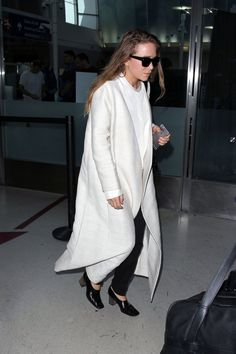 Mary-Kate's Travel Outfit Has That Signature Olsen Touch