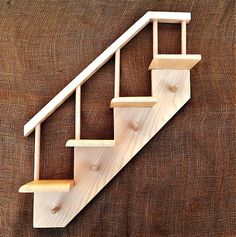 Drevene.veci / vešiak drevený-schody