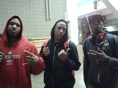 Outside locker room in Alabama- J.Bush-Malcom Kirkland-Chris Leggett