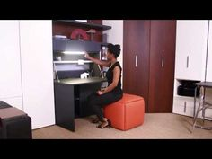 Home Office | Resource Furniture | Space Saving Essentials - YouTube