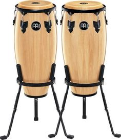 Meinl Headliner Natural 10 & 11 wood Conga Set (2 units) by Meinl Percussion. $349.99. Amazon.com                The 10-inch & 11-inch pair of Headliner wood congas is the perfect set to get you started. The compact size is easy for young players to handle, light to carry and has a full, rich sound. You can develop a full foundation of conga techniques and rhythms with these student-friendly drums.                             HC555 Wood Conga Features    28 inches ...