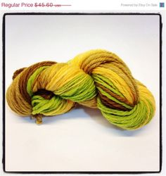 ON SALE Handspun wool perfect for any project multi by Jackpie