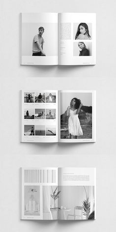 New Haven Lookbook Template #portfolio #lookbook #brochure #template #brochuretemplates #indesign #templates #layout #editorial #lifestyle