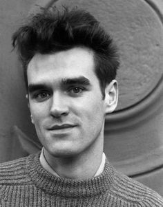 Morrissey (1984) ― photo by Kerstin Rodgers.
