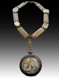 """A Time for Edgar"" pocket watch from Laurie Leonard Designs"