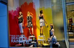 Retail Window Displays | Le Chateau Pride Day Windows 2009 1 | Retail Window Displays
