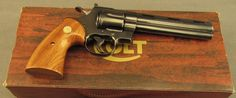 Colt Python With 6 Inch Magnaported Barrel Built 1974Loading that magazine is a pain! Get your Magazine speedloader today! http://www.amazon.com/shops/raeind