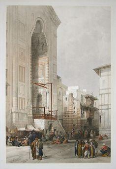 ca. 1839. David Roberts lithograph