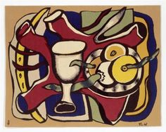 Still Life with Apples - Fernand Léger