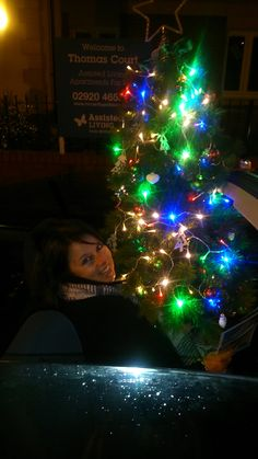 Our staff at Thomas Court donate a fully decorated Christmas tree to their local church in Cardiff.