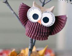 Die 12 Besten Bilder Von Eulen Geschenke Owl Crafts Day Care Und