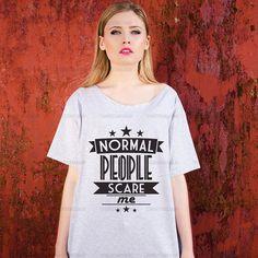 Oversize+Off+Shoulder+Tshirt++Normal+people+by+TshirtsTakeaway,+€13.99