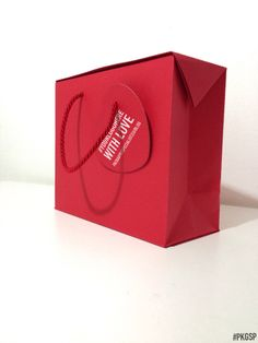 BAG BOX | Lampone #PKGSP #packaging