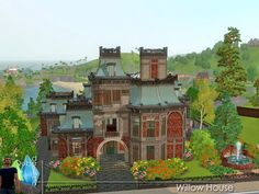 Willow House by QubeDesign - Sims 3 Downloads CC Caboodle