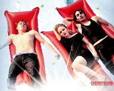 """Cherrybomb"" «Two guys. One girl. Game on.»"