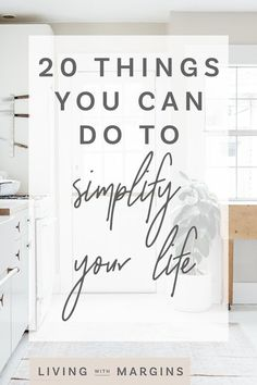 20 practical things you can do today to simplify your life. Step by step decluttering guide. Organized Mom, Getting Organized, Home Organization Hacks, Organizing Life, Home Decor Inspiration, Body Inspiration, Declutter Your Home, Resume Tips, Life Advice