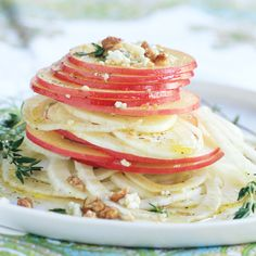 Apple and Fennel Salad with Apple Vinaigrette Recipe from Nestle ...