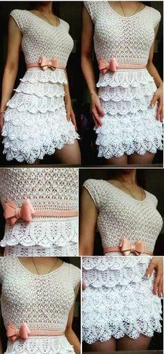 Cutest Dress you can Crochet