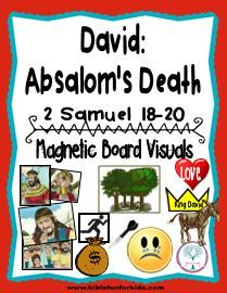 Bible Fun For Kids Cathys Corner David Absaloms Death