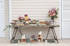 dessert table styling