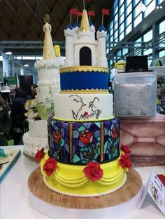 67 Best Beauty And The Beast Wedding Cake Images Beauty The Beast
