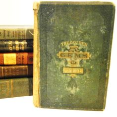 #Vintage 1881 The Golden Gems Of Life book by @theheritageohio #vmteam
